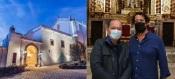 Vice-governador Brasileiro de visita ao Convento do Espinheiro em Évora para investimentos em hotelaria!