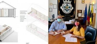 Alandroal: Assinado contrato de execução do Centro de Acolhimento Turístico e Interpretativo de Juromenha