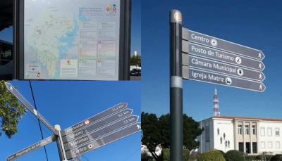 Já arrancou em Reguengos de Monsaraz o projeto de sinalética turística inteligente, em investimento de 321 mil euros