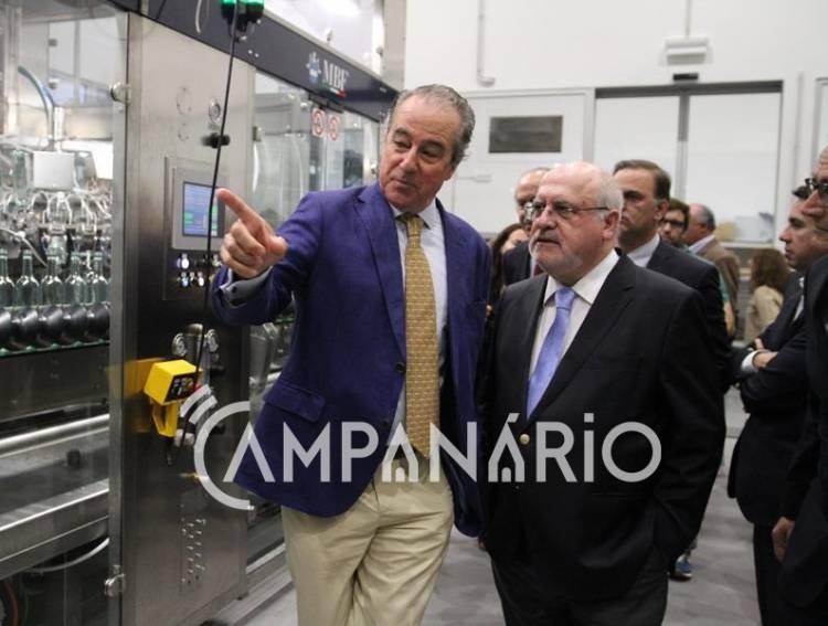 Estremoz: Grupo João Portugal Ramos inaugura centro de engarrafamento num investimento de 5 milhões e meio de euros (c/som e fotos)