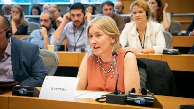 Deputada do PCP no Parlamento Europeu realiza visita ao distrito de Évora