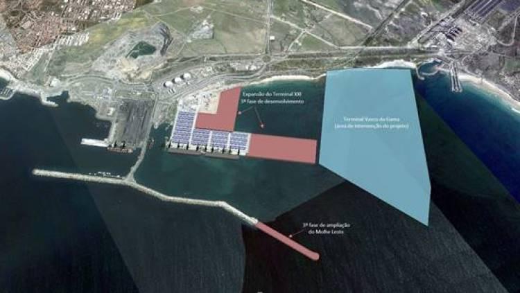 Porto de Sines com investimento privado de 547 milhões de euros para expansão do Terminal XXI
