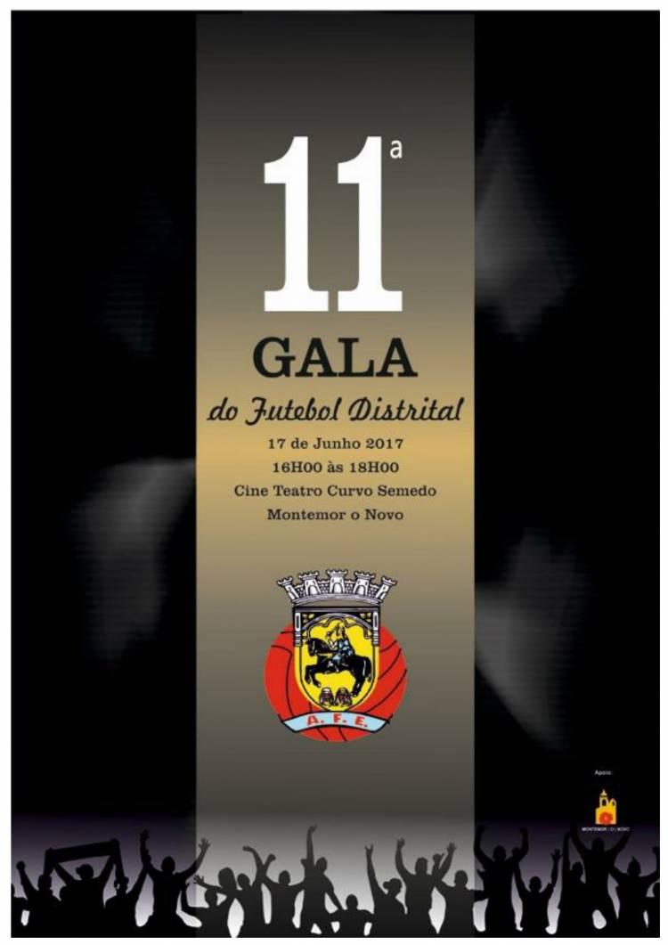 Gala do Futebol Distrital de Évora será dia 17 de junho