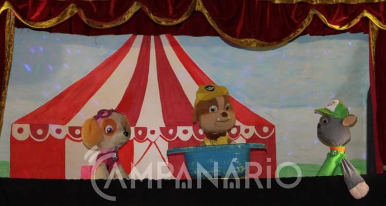 Borba recebeu espetáculo de marionetas este fim-de-semana (c/fotos)