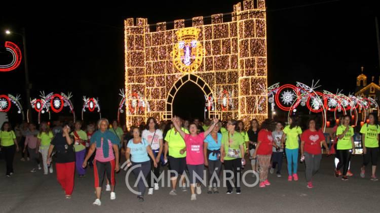 Mais de 300 pessoas na caminhada noturna deram o pontapé de saída da Festa dos Capuchos 2019