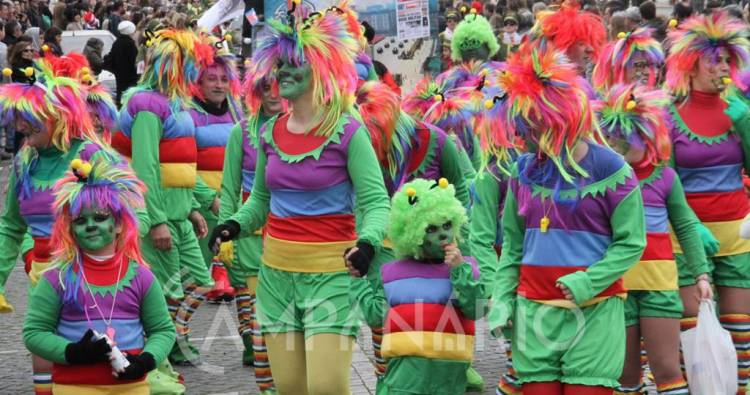 Centenas de foliões encheram Vila Viçosa de animação e alegria (c/fotos)