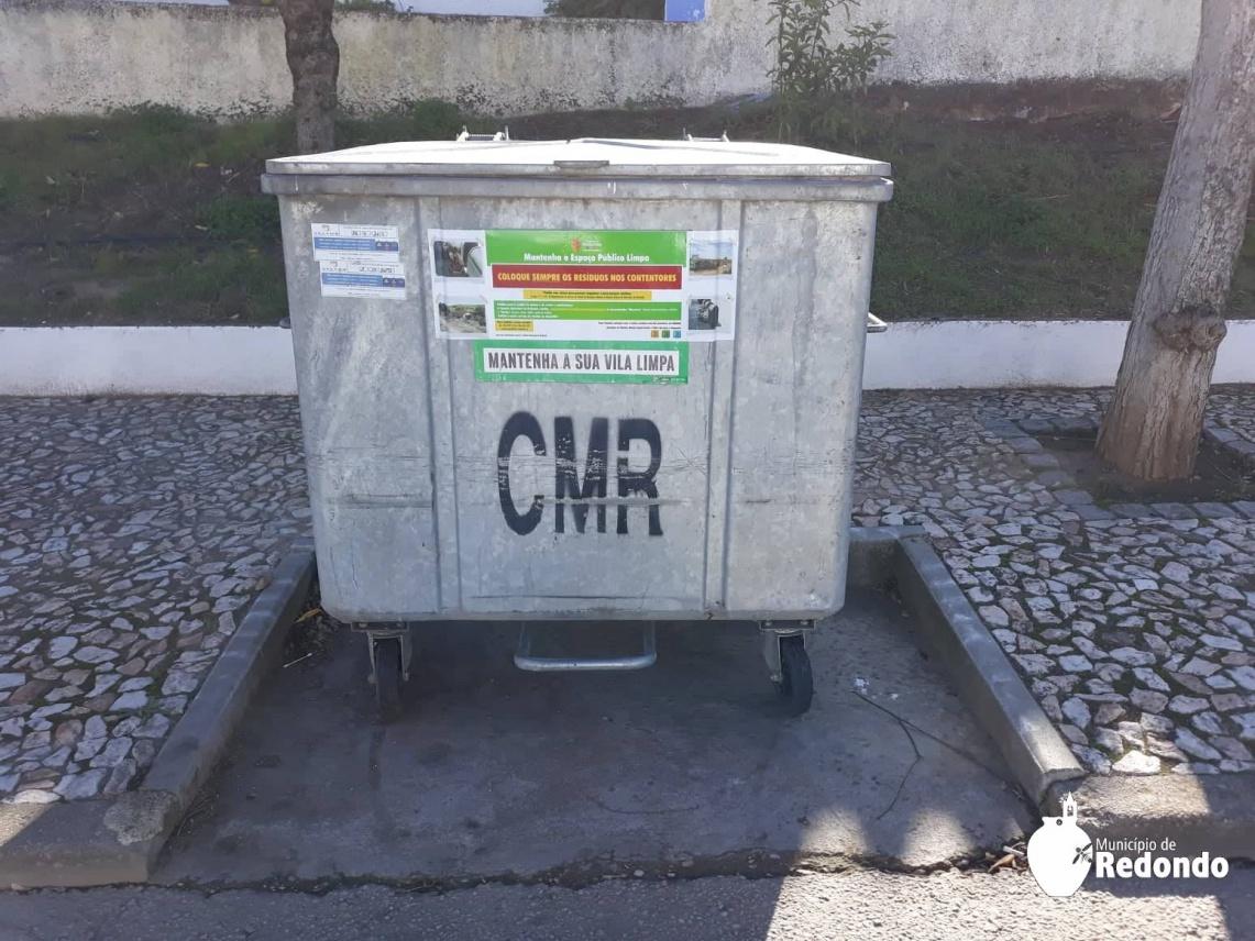 CM de Redondo apela à correta deposição do lixo - Rádio Campanário