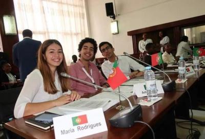 Jovem elvense, Madalena Rodrigues eleita Vice Presidente da mesa do Parlamento Juvenil da CPLP