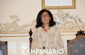 """""""Vamos trabalhar com todos os munícipes e fazer com que esta assembleia seja a casa de todos"""" diz Francisca sousa, Presidente da AM de Mourão(c/som)"""