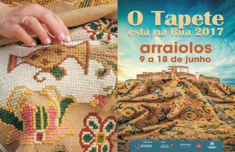 """Certame """"O Tapete está na rua"""" inicia esta sexta em Arraiolos"""