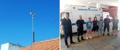 MeteoAlentejo instala estação meteorológica em Aljustrel. Projeto já tem cerca de 20 estações na região