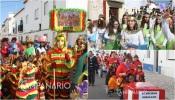Centenas de crianças do concelho de Borba animaram as ruas da cidade com desfile carnavalesco (c/fotos)