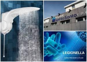 Hospital de Évora sem banhos de água quente para prevenção de surto de legionella
