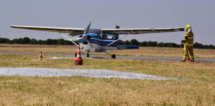Exercício de Emergência Escala Total: Proteção Civil eborense testa meios no Aeródromo Municipal
