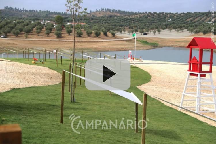 Veja em vídeo a inauguração de Praia Fluvial da Amieira, a 3ª praia do Alqueva
