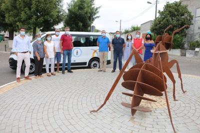 Câmara de Ponte de Sor entrega nova viatura ao Centro Comunitário de Ervideira