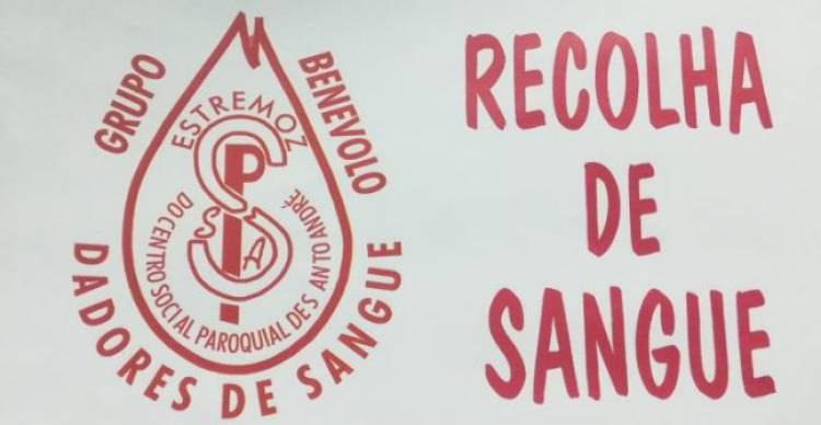 Recolha de Sangue em Estremoz a 25 de maio