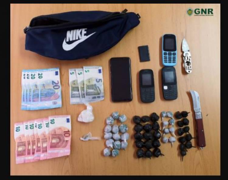 GNR apreende mais de 2000 doses de droga no Litoral Alentejano