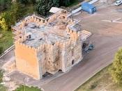 Alandroal - Avançam as obras no Santuário de Nossa Senhora da Boa Nova. Veja as fotos aéreas!