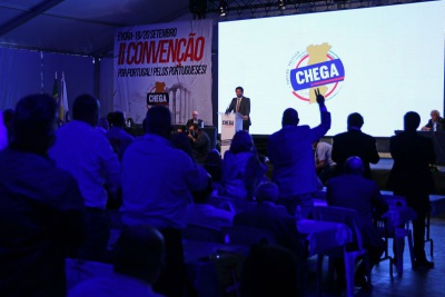 Convenção do Chega, em Évora, foi fiscalizada pela GNR por incumprimento das regras sanitárias