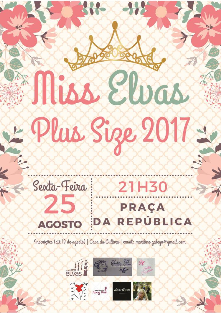 Elvas vai eleger a Miss Elvas Plus Size 2017