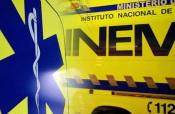Vendas Novas: 2 feridos graves e 1 ligeiro após acidente entre camião e carro