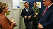 COVID-19: Coordenador Governamental para o Alentejo visita Unidade de Testes da Universidade de Évora