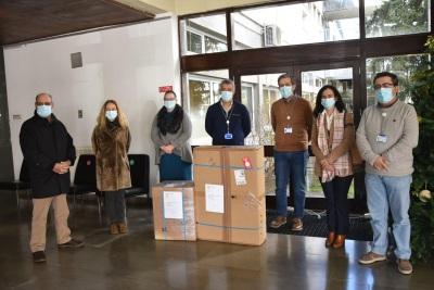 Associação dos Agricultores de Portalegre doam ventilador e reforçam cuidados intensivos.