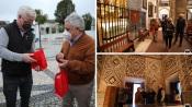 Embaixador dos E.U.A em Portugal visitou Alcáçovas e Viana do Alentejo