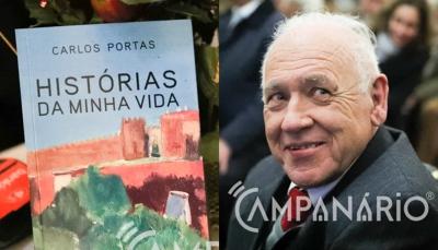 """Prof. Carlos Portas em dia de apresentação do livro 'Memórias da Minha Vida' diz que """"Vila Viçosa foi e é a minha terra"""" (c/som e fotos)"""