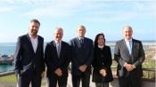 Ministro das Infraestruturas e Habitação visitou o Porto de Sines