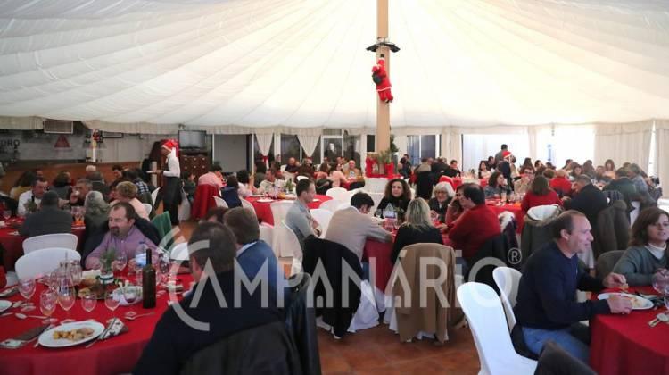 """Almoço de Natal do Município de Alandroal """"é um momento de aproximação"""" entre os funcionários, diz autarca (c/som e fotos)"""