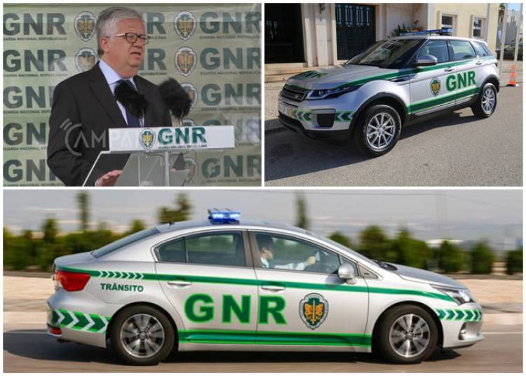 """""""GNR irá receber 300 viaturas até final de 2019"""", garante Ministro Eduardo Cabrita"""