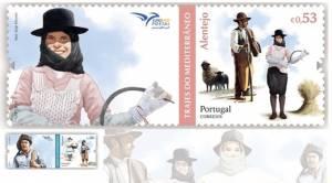 Trajes do Alentejo inspiram nova coleção de selos dos CTT