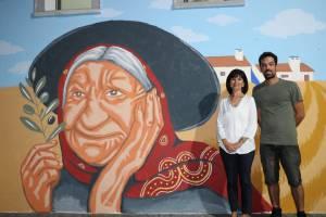 """Campomaiorense realizou a mais recente intervenção artística do programa """"Arte Pública"""" da Fundação EDP"""