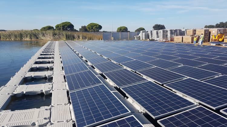 EDIA lança concurso para o maior projeto fotovoltaico flutuante da Europa
