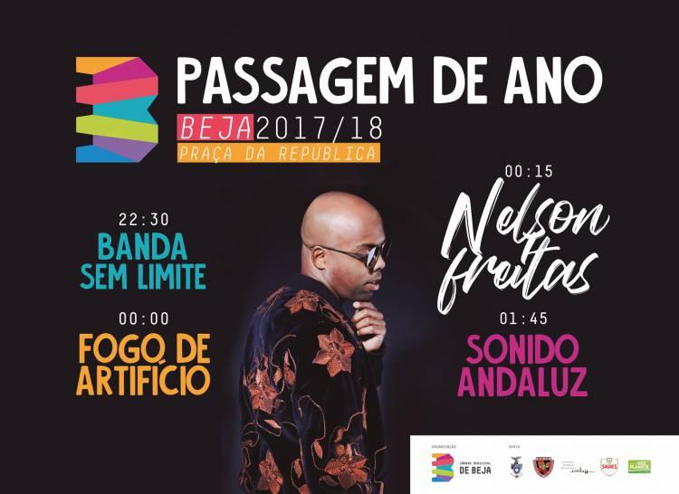 Beja comemora passagem de ano com concerto de Nelson Freitas