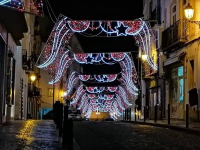 Elvas ilumina-se para receber o Natal