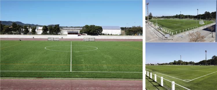 Município de Grândola inaugura relvados sintéticos dos campos de futebol