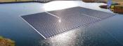 Ministra do Agricultura visitou a primeira grande instalação fotovoltaica flutuante em Portugal (C/SOM)