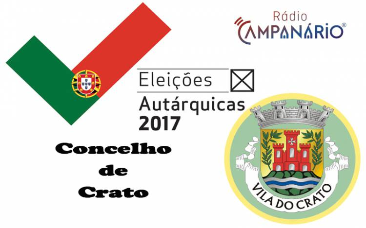 Autárquicas 2017: Os resultados eleitorais do concelho de Crato (c/dados)