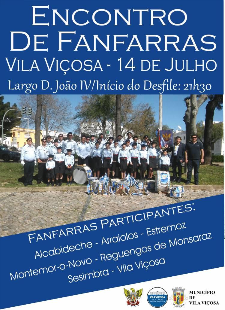 Vila Viçosa recebe 1º Encontro de Fanfarras já este sábado