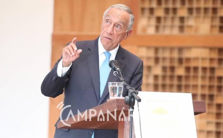 """Candidatura a Património Mundial """"é um projeto muito importante, não apenas para Vila Viçosa, mas para Portugal"""", diz Presidente da República (exclusivo c/som)"""
