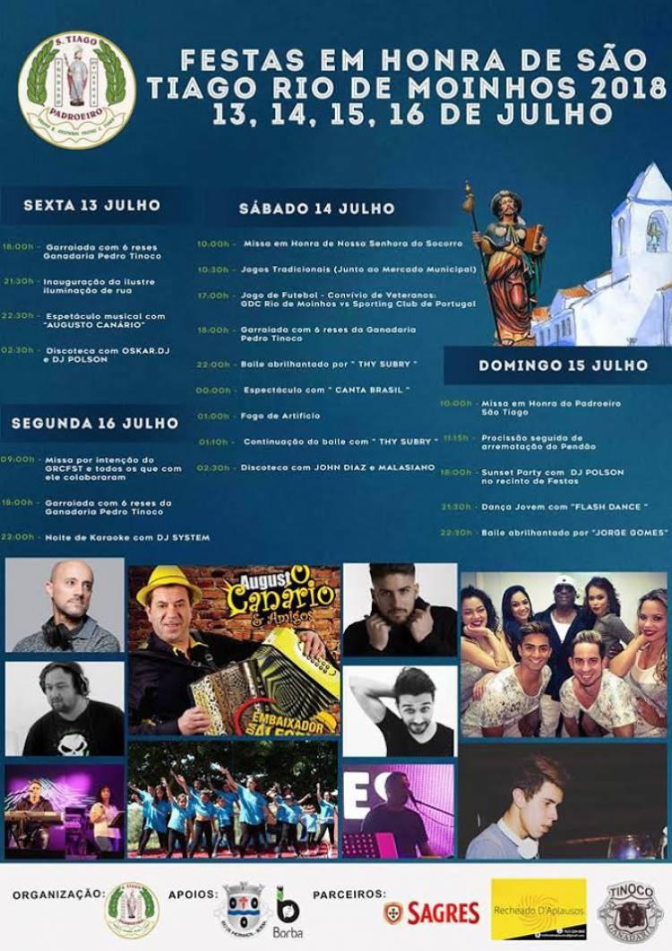 Borba:  Rio de Moinhos em festa este fim de semana