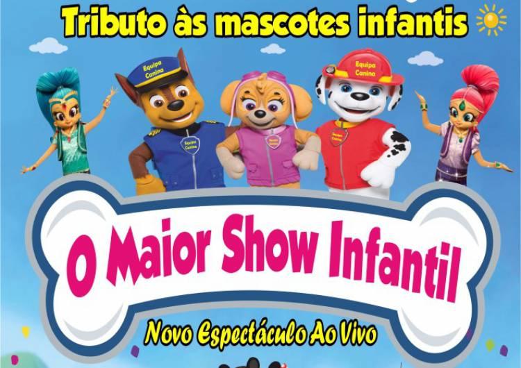 Maior Show Infantil em Estremoz este domingo