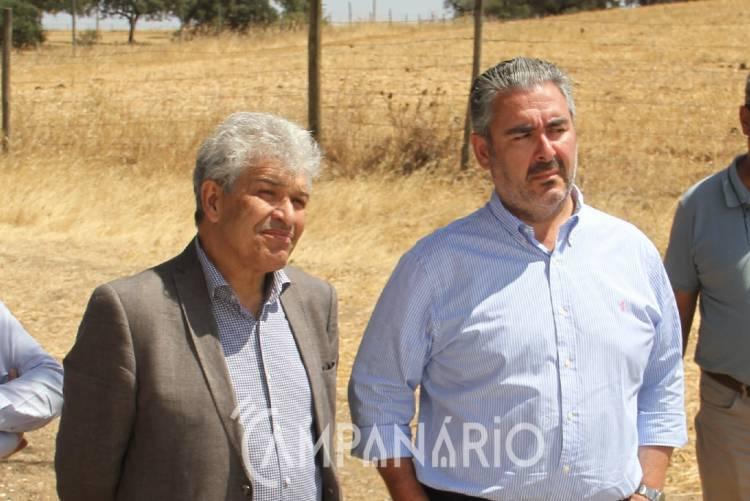 """""""Estão a ser criadas soluções"""" que asseguram o abastecimento de água no concelho de Alandroal, diz autarca (c/som)"""