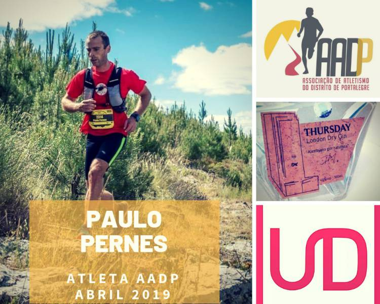 Paulo Pernes sagra-se atleta AADP do mês de Abril
