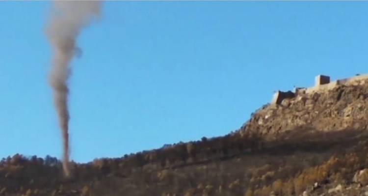 Remoinhos de vento atingem Marvão no local do incêndio do início do mês (c/vídeo)