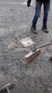 """Projeto """"Pedras Rolantes"""" leva esculturas de chão aos passeios de Évora"""
