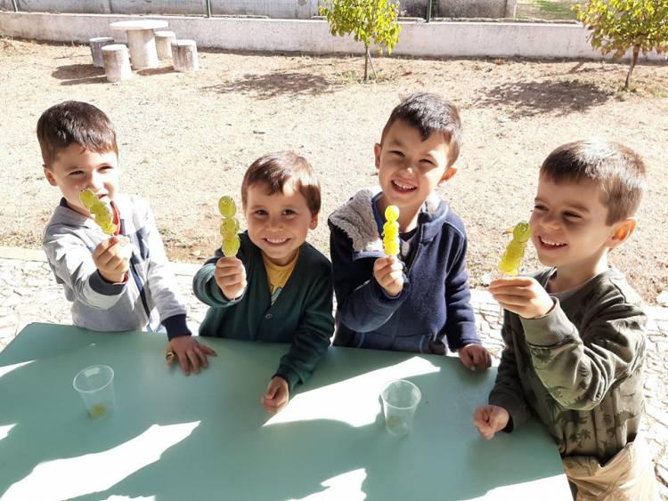 Alunos do pré-escolar e 1ºciclo de Borba assinalam dia Mundial da Alimentação